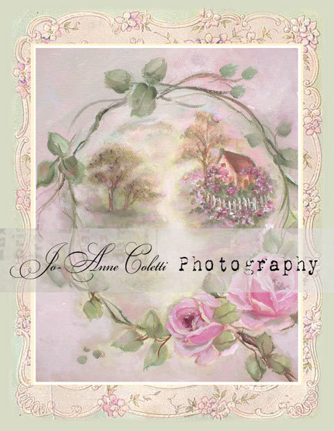 Cottage Rose Note Cards-shabby note cards, pink roses,