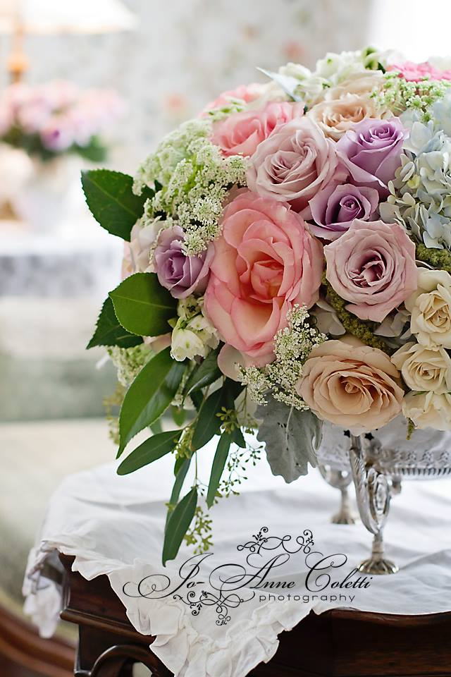 Bouquet of Roses Note Cards
