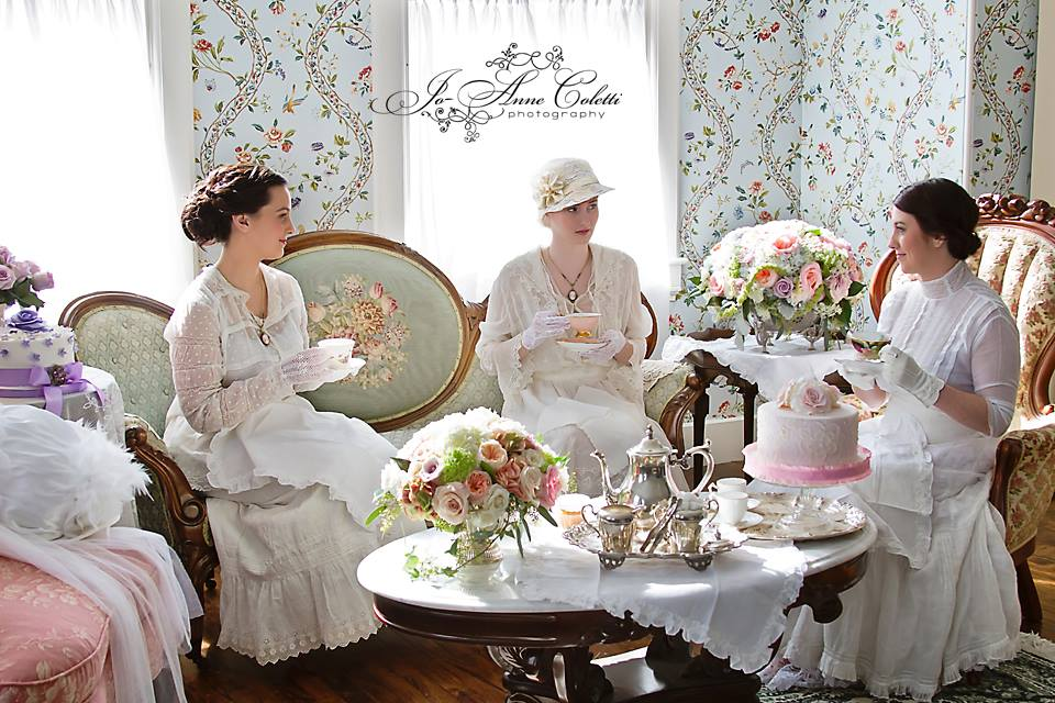 A Downton Abbey Tea Note Cards