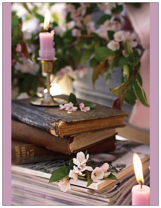 Book and Candle Note Cards