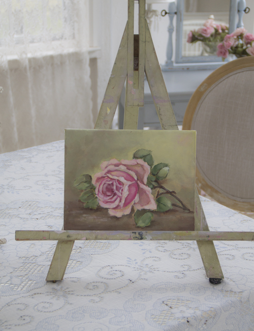 ROSES Original Painting by Jo-Anne Coletti-Original rose paintings, Joanne Coletti, artwork, painting lessons, vintage rose paintings, antique roses