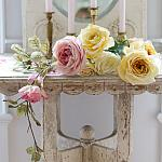 Vintage Faux Forever Roses