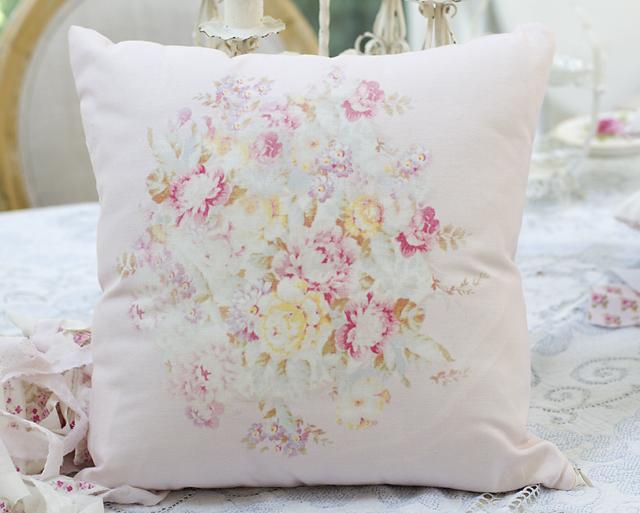 Floral Bouquet Pillow