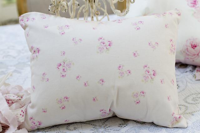 Petite Rosebud Pillow