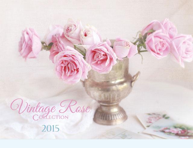 2015 Romantic Calendar-2014 shabby chic style calendar, romantic calendar, feminine home