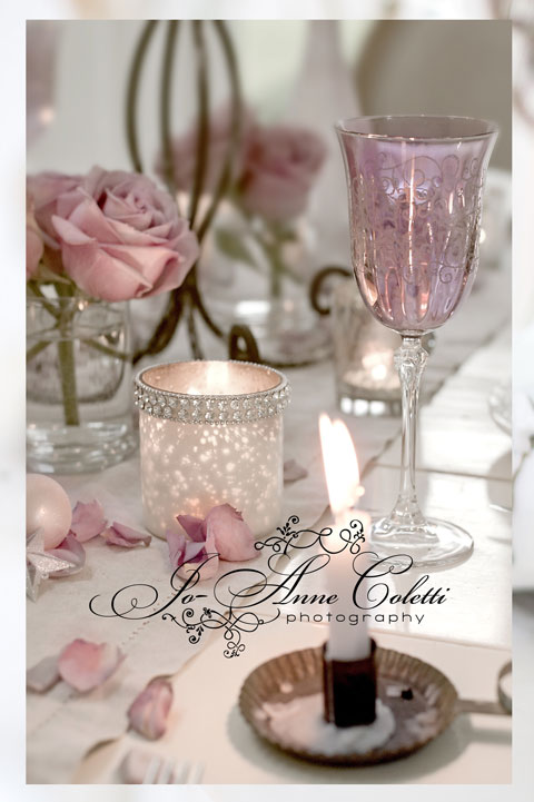 Note Cards Dinner by Candle Light-Romantic note cards, vintage stationery, writing notes, Joanne Coletti, rose photos,shabby chic, rose photography, antique notes