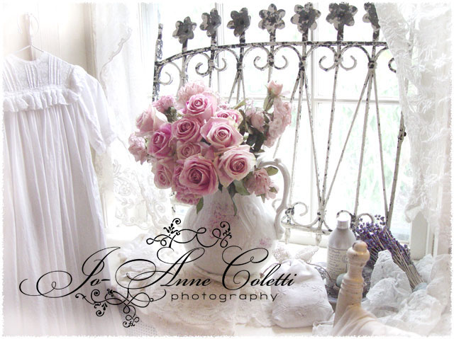 Roses by a Window-vintage note cards, roses stationery